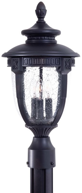 The Great Outdoors GO 8956 3 Light Post Light from the Burwick