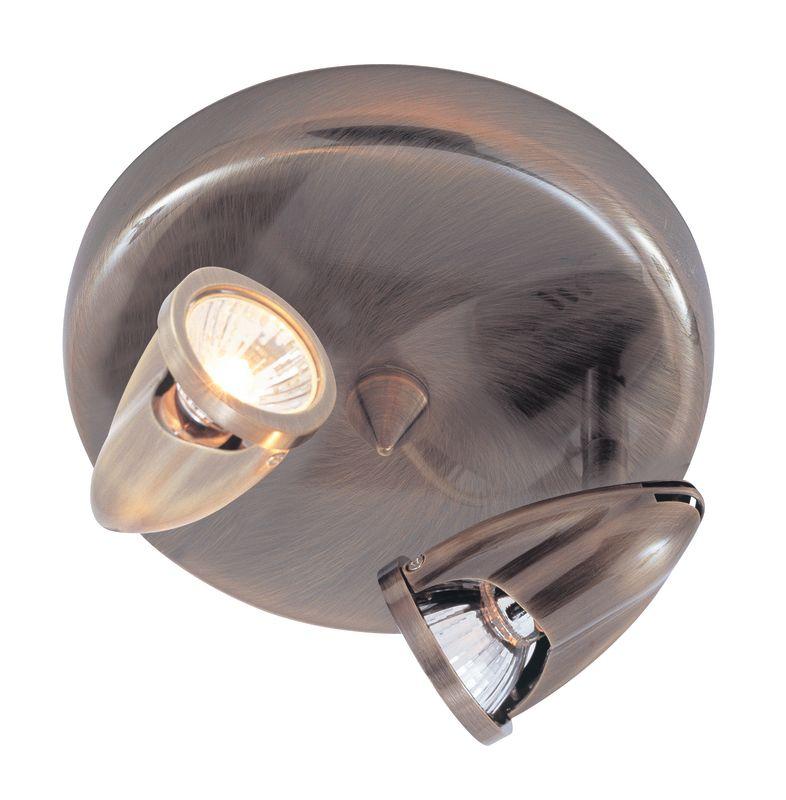 Trans Globe Lighting W-461 BN Brushed Nickel Modern Track Contemporary / Modern Two Light Down Lighting Track Light from the Modern Track Collection