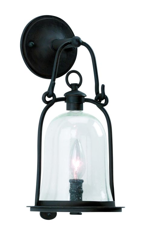 Troy Lighting B9461 Owings Mill 1 Light Outdoor Wall Sconce with Seedy Sale $288.00 ITEM#: 526201 MODEL# :B9461NB UPC#: 782042532618 :
