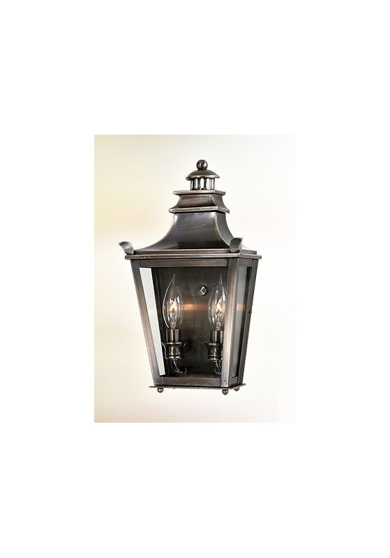 "Troy Lighting B9494 Dorchester 2 Light 20"" Outdoor Wall Sconce English Sale $534.00 ITEM#: 525335 MODEL# :B9494EB UPC#: 782042534933 :"