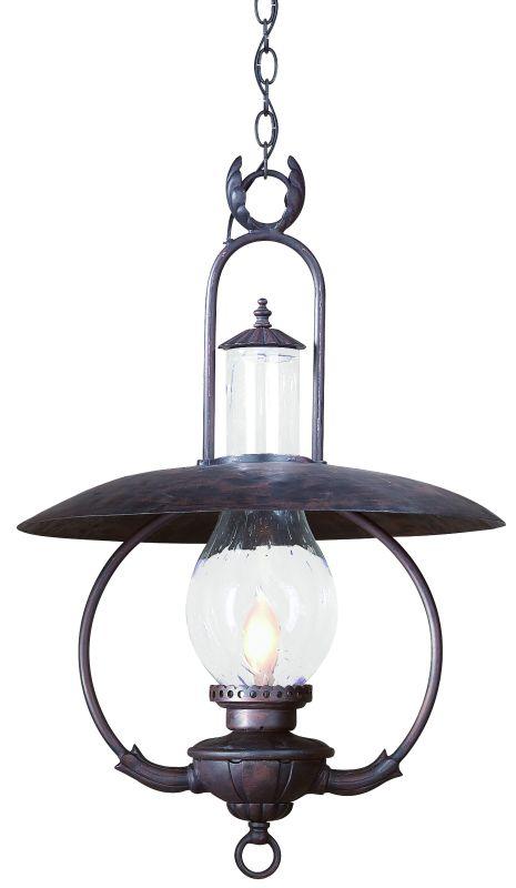 "Troy Lighting FCD9014 La Grange 1 Light 30"" Outdoor Lantern Pendant"