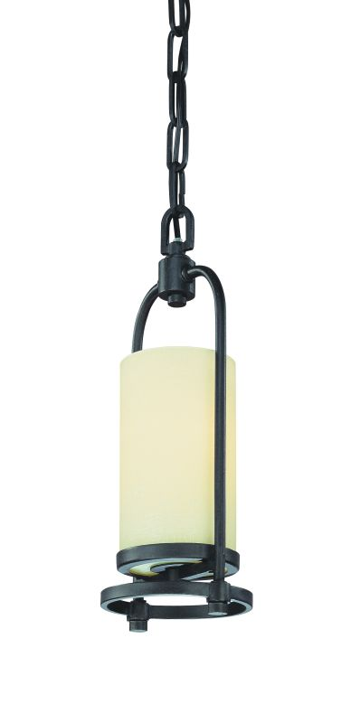 Troy Lighting F1807 Redmond 1 Light Mini Pendant with Fabric Shade
