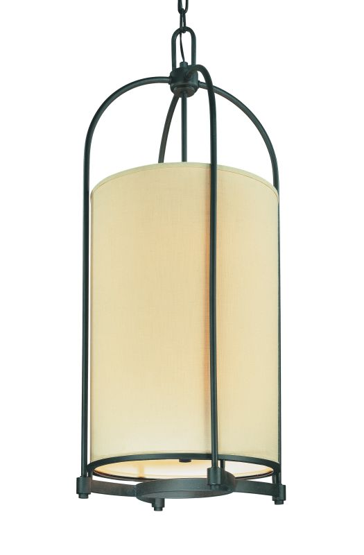 Troy Lighting F1808 Redmond 8 Light Chandelier with Fabric Shade