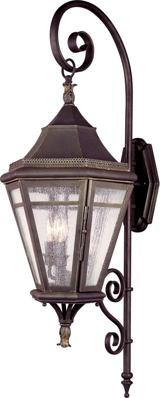 Troy Lighting B1272 Morgan Hill 3 Light Outdoor Wall Sconce with Seedy