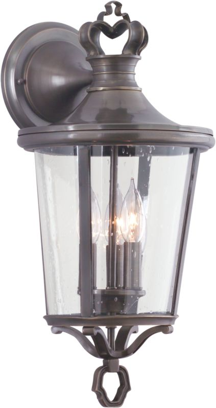 Troy Lighting B1382 Britannia 3 Light Outdoor Wall Sconce with Seedy