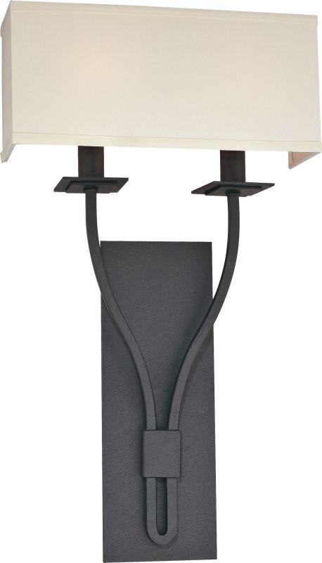 Troy Lighting B2462 Palladium 2 Light ADA Compliant Double Wall Sconce Sale $248.00 ITEM#: 1597979 MODEL# :B2462FB UPC#: 782042758568 :