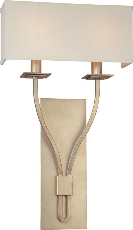 Troy Lighting B2462 Palladium 2 Light ADA Compliant Double Wall Sconce Sale $300.00 ITEM#: 1597980 MODEL# :B2462SL UPC#: 782042758575 :