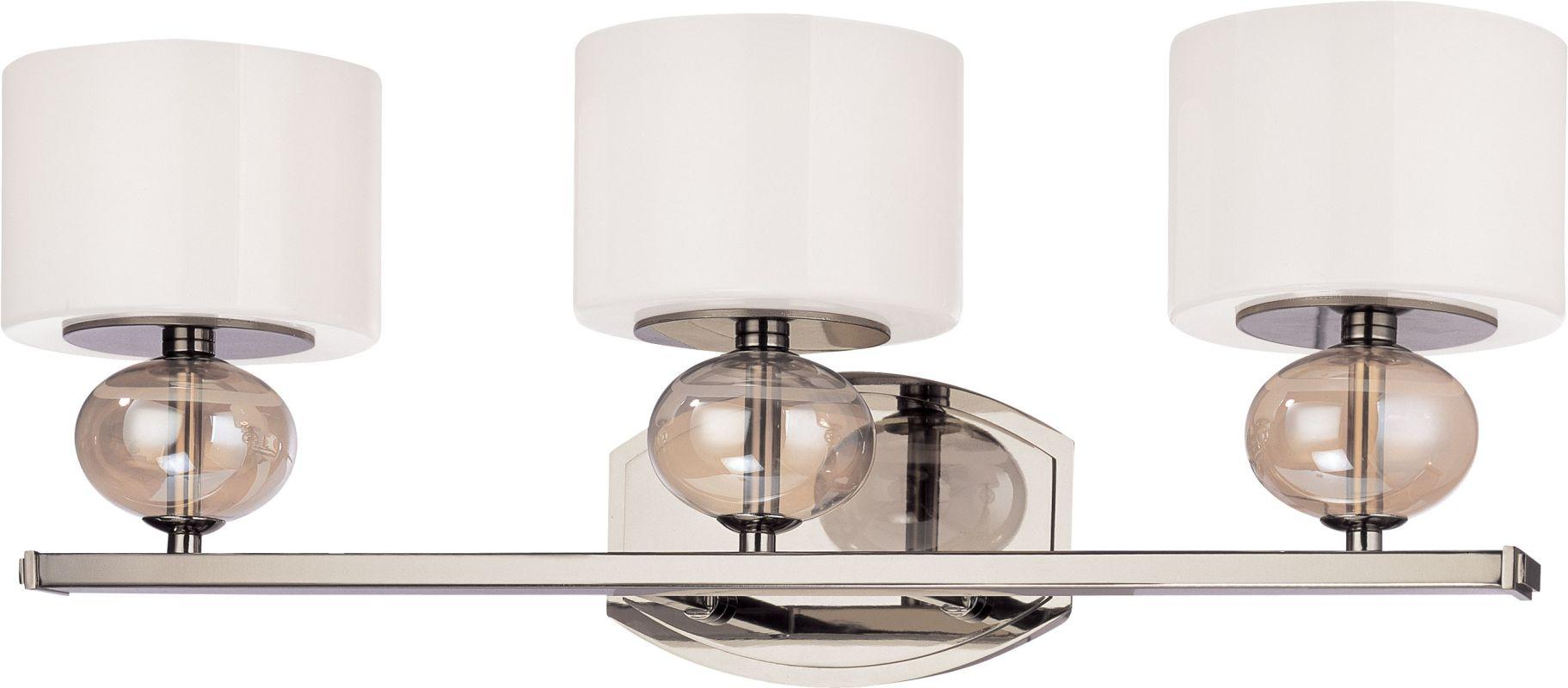 Troy Lighting B2853 Fizz 3 Light Bathroom Vanity Light with White