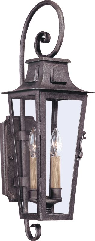 Troy Lighting B2962 French Quarter 2 Light Outdoor Wall Sconce Aged Sale $476.00 ITEM#: 1955806 MODEL# :B2962 UPC#: 782042773974 :