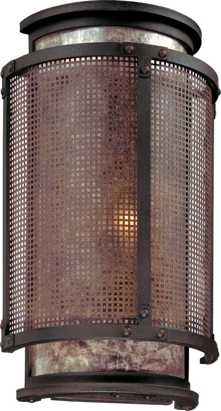 Troy Lighting B3101 Copper Mountain 1 Light Wall Sconce with Silver