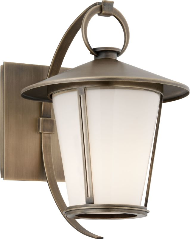"Troy Lighting B3251 Rennie 1 Light 11"" Solid Brass Outdoor Wall Sconce"