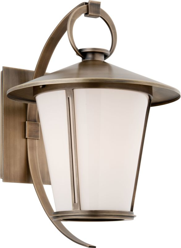 "Troy Lighting B3253 Rennie 1 Light 16"" Solid Brass Outdoor Wall Sconce"