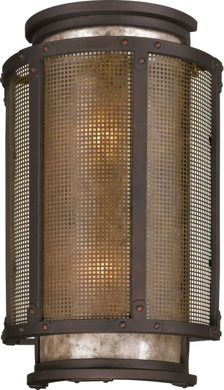 """Troy Lighting B3273 Copper Mountain 2 Light 18"""" Outdoor Wall Sconce"""