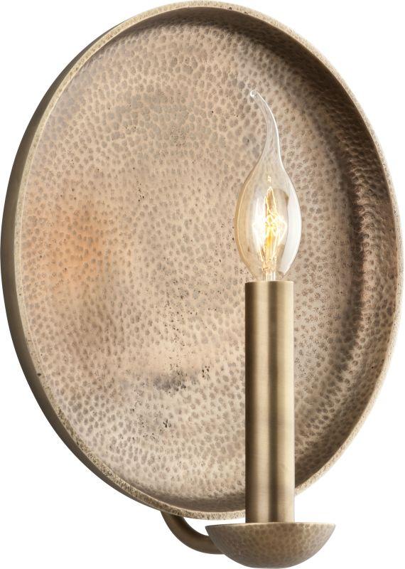Troy Lighting B3702 Taj 1 Light Candle-Style Wall Sconce Antique Brass Sale $104.62 ITEM#: 2274601 MODEL# :B3702 UPC#: 782042814363 :