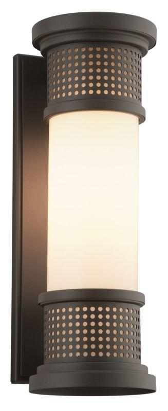 "Troy Lighting B4672 Mcqueen 16.25"" Tall 1 Light Outdoor Wall Sconce Sale $298.00 ITEM#: 2723116 MODEL# :B4672 UPC#: 782042882263 :"