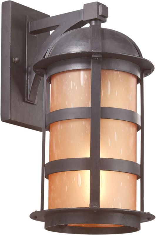 "Troy Lighting B9253 Aspen 1 Light 17"" Outdoor Wall Sconce with Seedy"