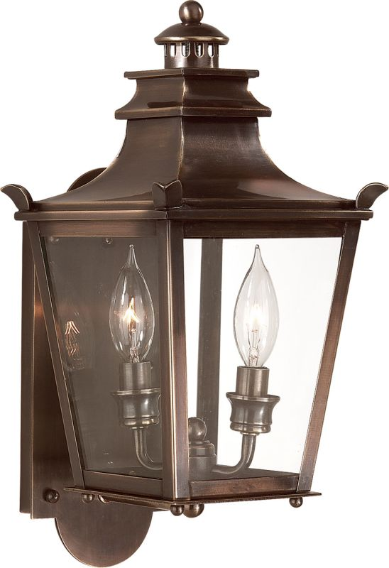 "Troy Lighting B9490 Dorchester 2 Light 16"" Outdoor Wall Sconce English"