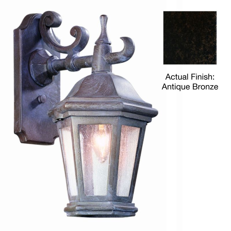 """Troy Lighting BCD6890 Verona 1 Light 14"""" Outdoor Wall Sconce with"""