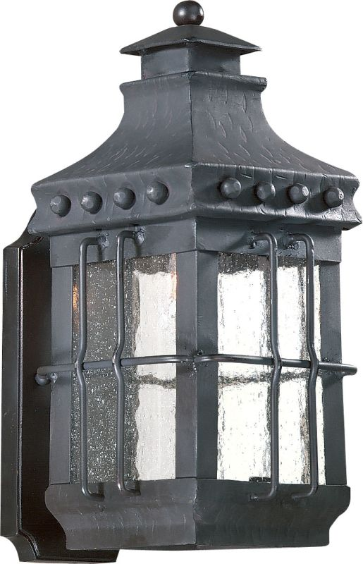 Troy Lighting BCD8970 Dover 1 Light Outdoor Wall Sconce with Seedy Sale $358.00 ITEM#: 525295 MODEL# :BCD8970NB UPC#: 782042475212 :