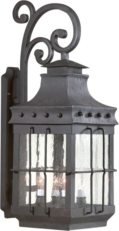 Troy Lighting BCD8974 Dover 4 Light Outdoor Wall Sconce with Seedy Sale $982.00 ITEM#: 525300 MODEL# :BCD8974NB UPC#: 782042478503 :