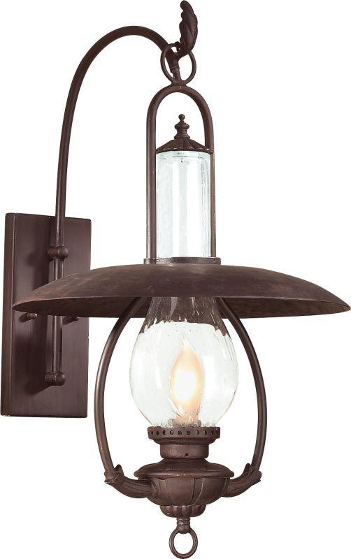 "Troy Lighting BCD9011 La Grange 1 Light 26"" Outdoor Wall Sconce Old"