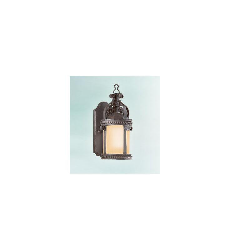 Troy Lighting BF9120-D Pamplona 1 Light CFL Dark Sky Outdoor Wall Sale $486.00 ITEM#: 2237825 MODEL# :BF9120OBZ-D UPC#: 782042805521 :