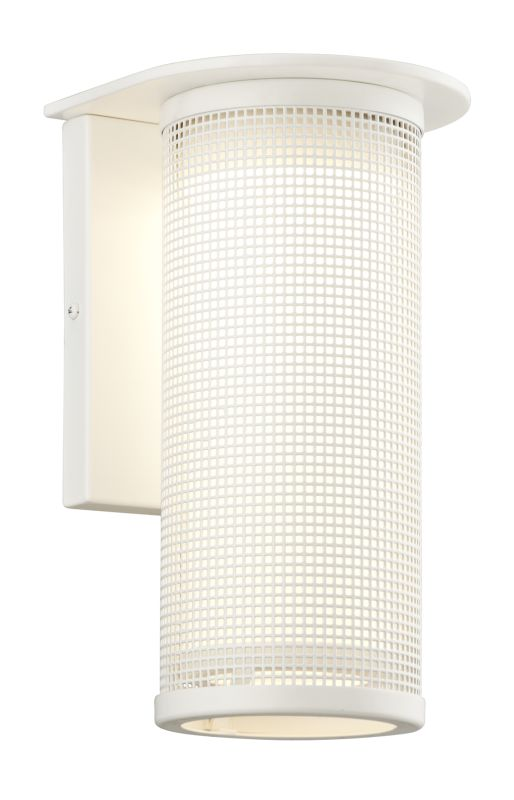 """Troy Lighting BL3742 Hive 1 Light 12"""" LED Outdoor Wall Sconce Satin"""