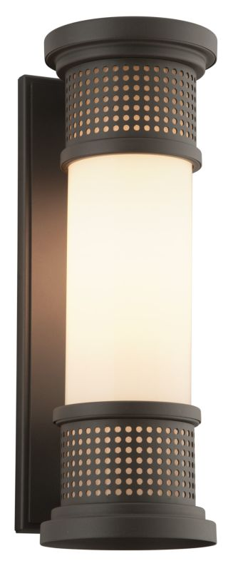 """Troy Lighting BL4672 Mcqueen LED 16.25"""" Tall Outdoor Wall Sconce with Sale $384.00 ITEM#: 2723128 MODEL# :BL4672 UPC#: 782042881709 :"""