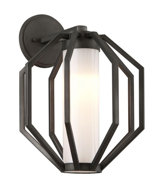 "Troy Lighting BL4983 Boundary 1 Light 12.5"" Wide Hand Forged LED Sale $298.00 ITEM#: 2876153 MODEL# :BL4983 UPC#: 782042103573 :"