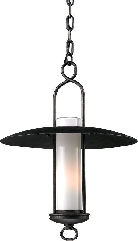 Troy Lighting F3337 Carmel 1 Light Outdoor Lantern Pendant Graphite