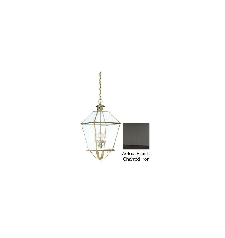 "Troy Lighting FCD8962 Montgomery 4 Light 24"" Outdoor Lantern Pendant"