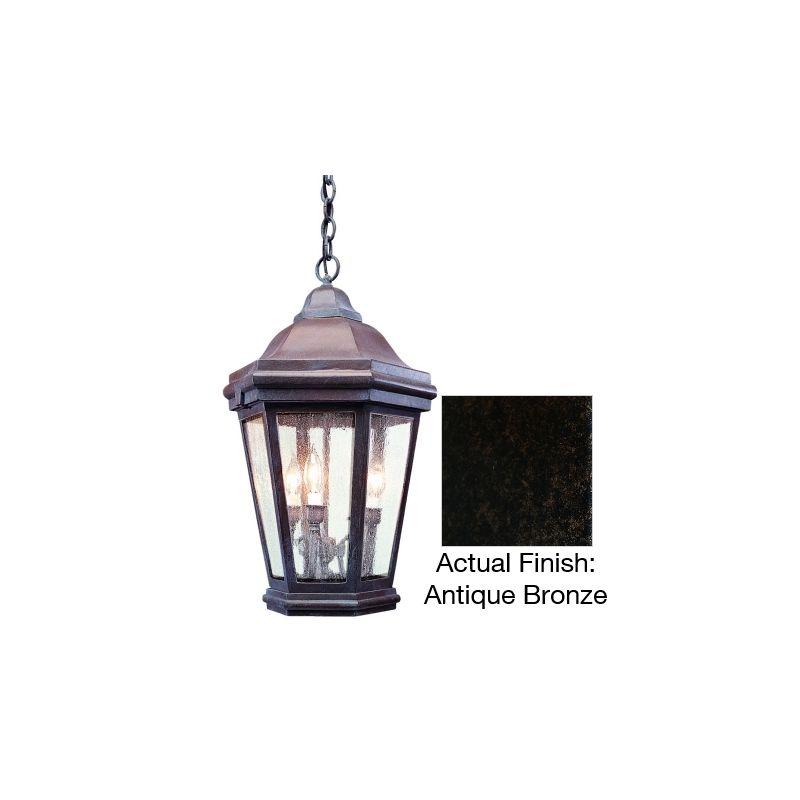 Troy Lighting FCD6895 Verona 3 Light Outdoor Lantern Pendant Antique