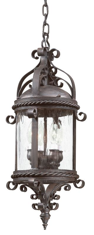 Troy Lighting FCD9124 Pamplona 4 Light Outdoor Pendant with Seedy Sale $628.00 ITEM#: 526482 MODEL# :FCD9124OBZ UPC#: 782042482302 :