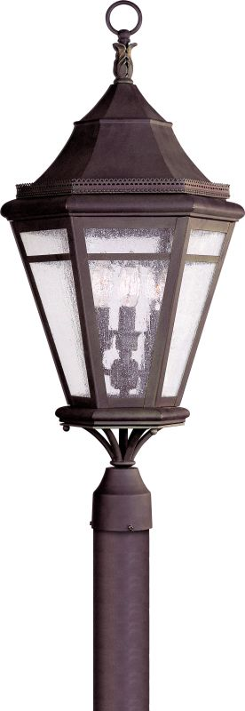 Troy Lighting P1274 Morgan Hill 3 Light Post Light with Seedy Glass Sale $844.00 ITEM#: 1597837 MODEL# :P1274NR UPC#: 782042665729 :