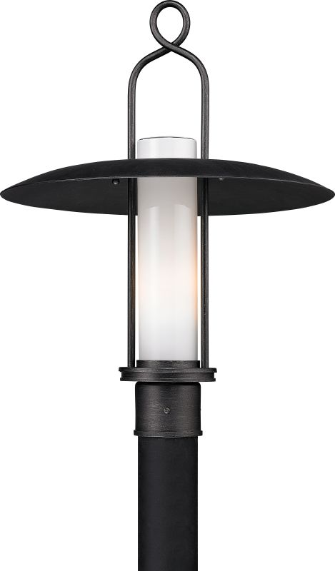 Troy Lighting P3335 Carmel 1 Light Post Light with Lantern Shade