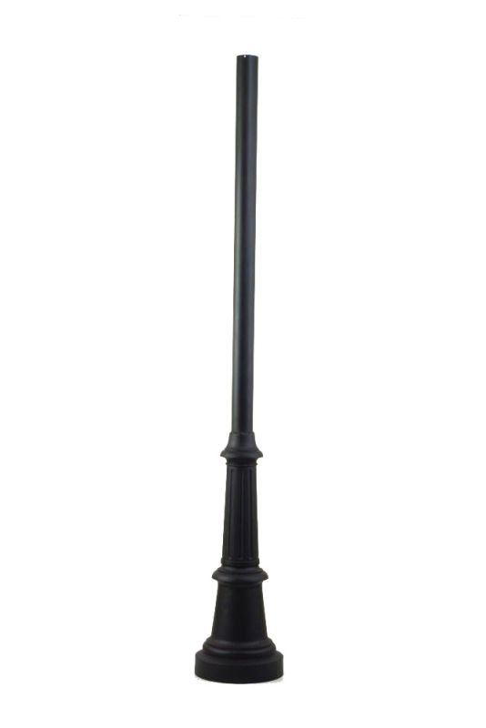 "Troy Lighting P8683 84"" Height Smooth Aluminum Post Mount Bronze"