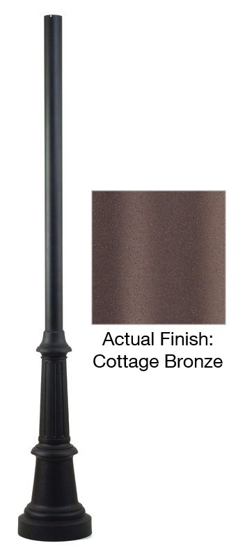 "Troy Lighting P8683-84 84"" x 3"" Smooth Extruded Aluminum Post Cottage"
