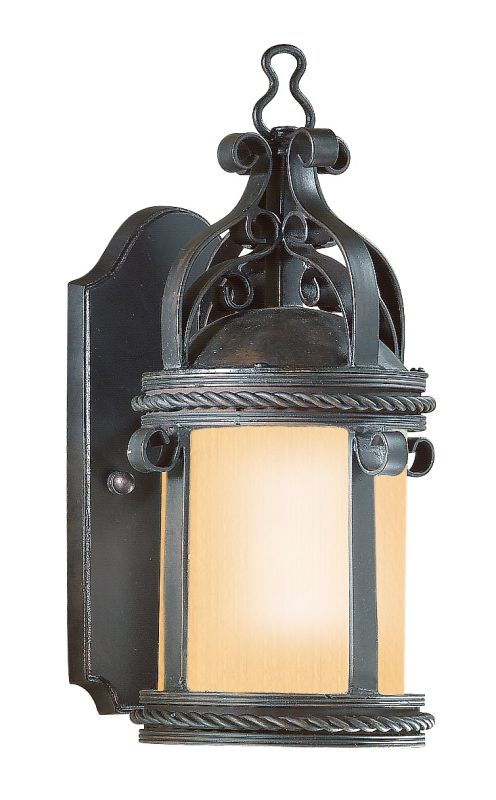 """Troy Lighting BF9120 Pamplona 1 Light 12"""" Outdoor Wall Sconce Old"""