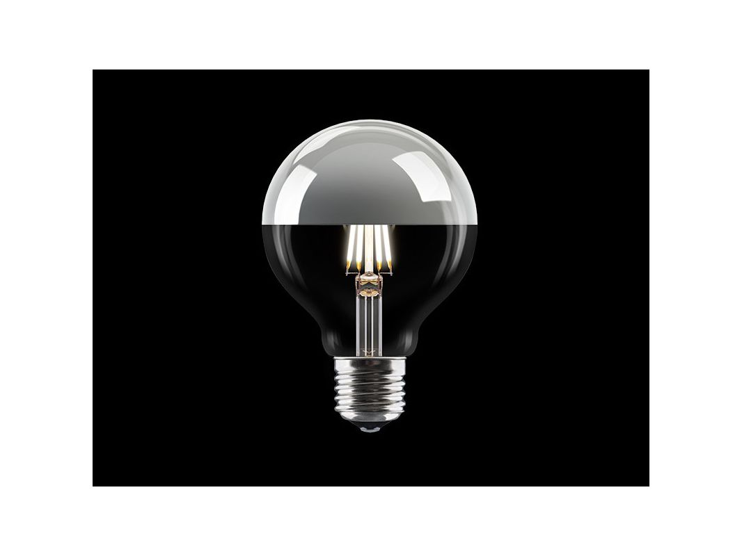 VITA Copenhagen 04042 7 Watt Vintage Edison G25 Medium (E26) Base LED