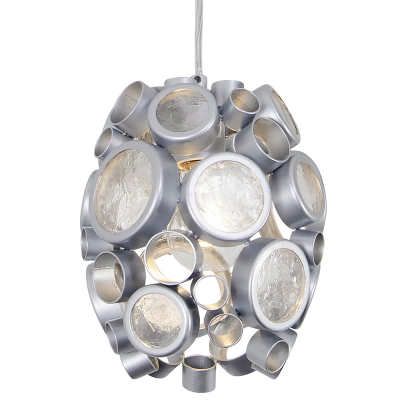 Varaluz 165M01 Fascination 1 Light Hand Forged Recycled Steel Pendant Sale $299.00 ITEM#: 2975206 MODEL# :165M01MS UPC#: 811903024600 :