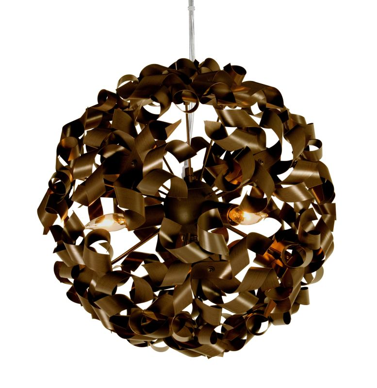 Varaluz 124P03 3 Light Down Pendant from the Pinwheel Collection