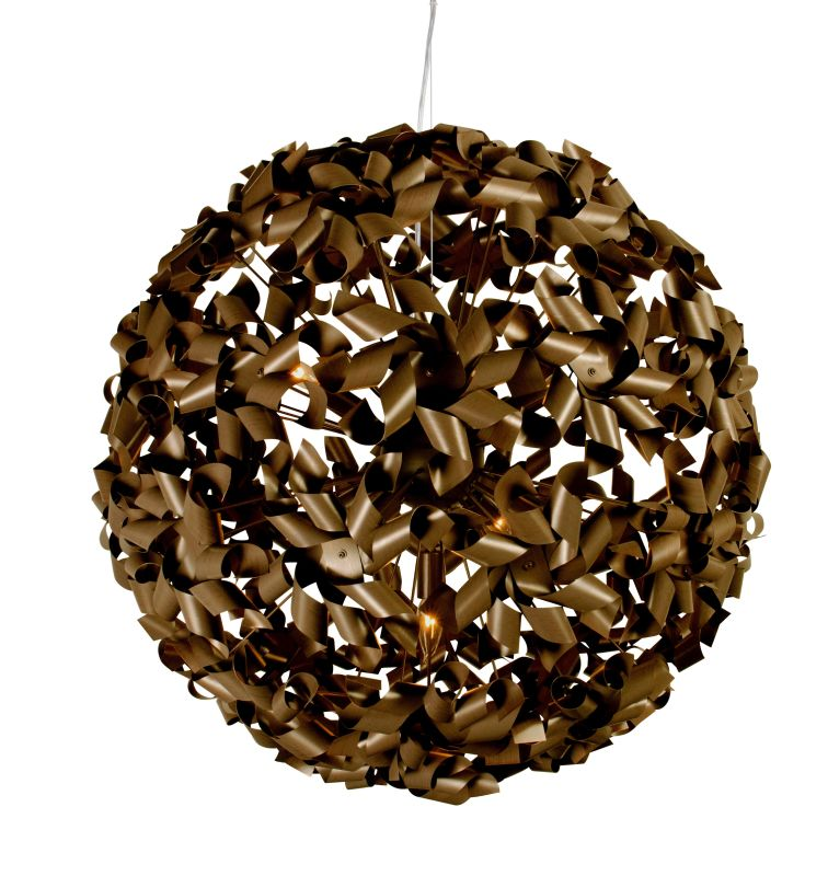 Varaluz 124P09L 9 Light Recycled Aluminum Large Pendant from the