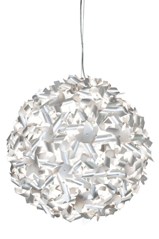 Varaluz 124P09M 9 Light Recycled Aluminum Medium Pendant from the