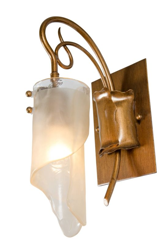 Varaluz 126B01 Single Light Wall Sconce Bathroom Fixture from the Soho