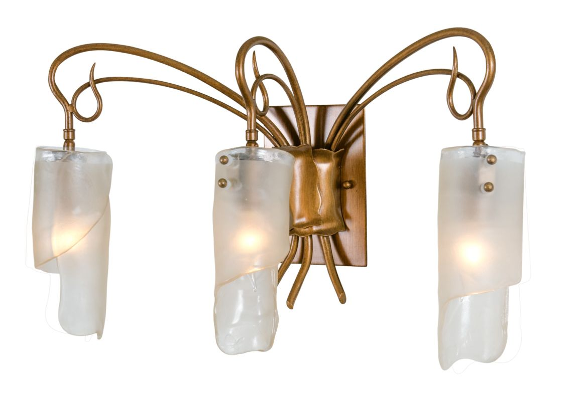 Varaluz 126B03 Three Light Bathroom Vanity Fixture from the Soho