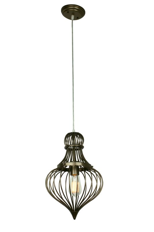 Varaluz 138M01 Clout 1 Light Mini Pendant New Bronze Indoor Lighting