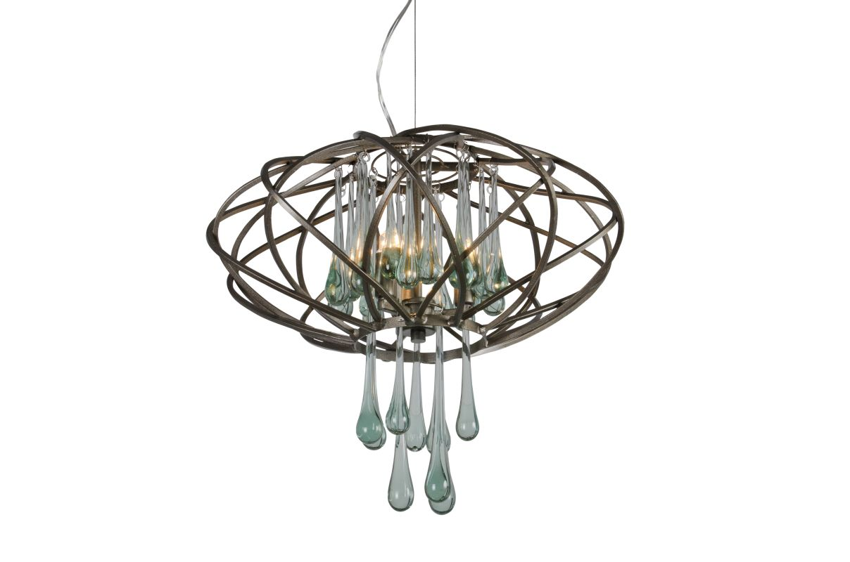 Varaluz 151C03 3 Light Pendant from the Area 51 Collection New Bronze