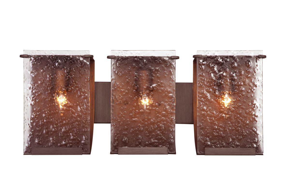 Varaluz 160B03 Rain 3 Light Vanity Hammered Ore With Recycled Hand Sale $359.00 ITEM#: 1334740 MODEL# :160B03HO UPC#: 815253011358 :