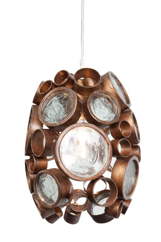 Varaluz 165M01 Fascination 1 Light Hand Forged Recycled Steel Pendant Sale $299.00 ITEM#: 1440005 MODEL# :165M01HO UPC#: 815253013918 :