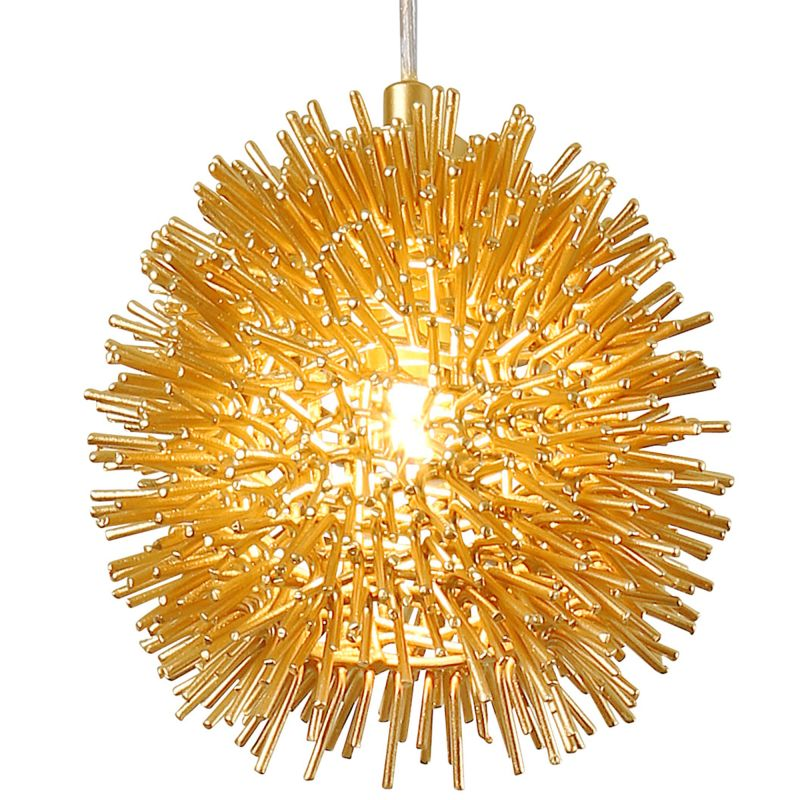 "Varaluz 169M01S Urchin Single Light 6.3"" Wide Recycled Material"